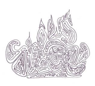 Fire maze